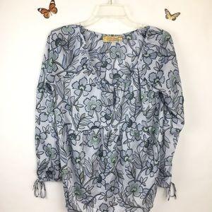 Princess Vera Wang Butterfly Blouse